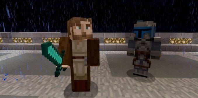 Star Wars Prequel Skin Pack for Minecraft